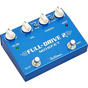 Fulltone Fulldrive2 MOSFET Overdrive Boost Pedal