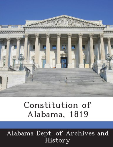 Constitution of Alabama, 1819