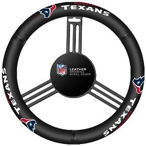 Fremont Die Houston Texans Steering Wheel Cover by Fremont Die