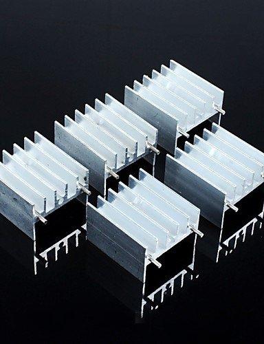 XMQC*Fin 25 * 24 * 16mm (con ago) TDA7294 / L298 e altri IC / (5pz.)