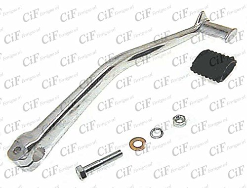 TRIGGER START GREY CHROME-PLATED WITH MOUNTING KIT AND ERASER VESPA PX 200 RAINBOW