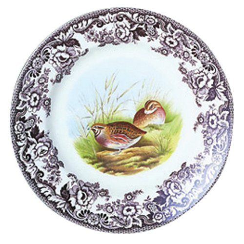 Buy Spode Woodland Game Birds 10-Inch Dinner Plate, Quail
