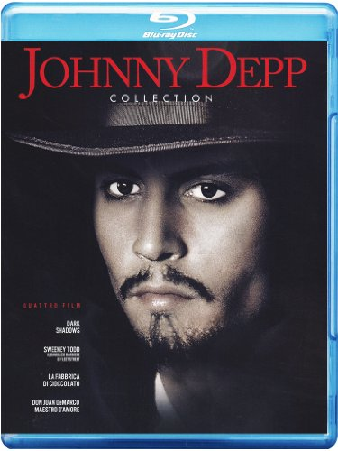 Johnny Depp collection [Blu-ray] [IT Import]