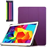 LOOPEE Samsung Galaxy Tab S 10.5 Case - Ultra Slim Lightweight Smart-shell Stand Case For Samsung Galaxy Tab S...