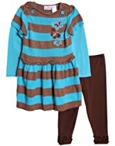 Peanut Buttons Butterfly Outfit - Includes Summer Dress & Pants Set (6)