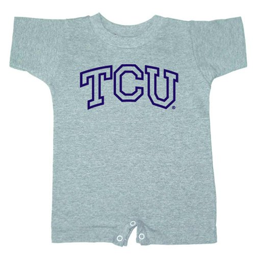 Bss Texas Christian Horned Frogs Ncaa Outline Logo Grey