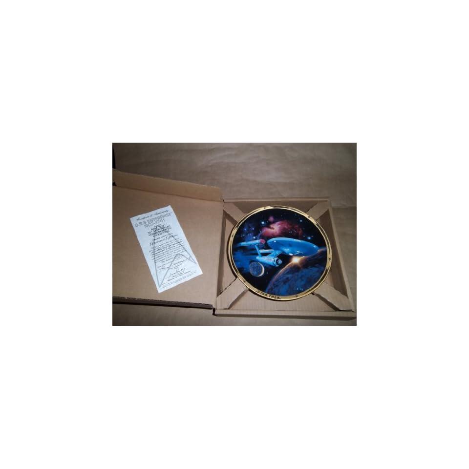 Star Trek 25th Anniversary Collection ENTERPRISE Collectors Plate