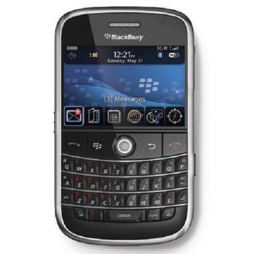 BlackBerry Bold 9000 Unlocked Phone with No Camera, 3G, Wi-Fi, GPS Navigation, and MicroSD Slot - Unlocked Phone - International Warranty - Black