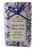 Castelbel Lavender Fields 300 Gram Soap Bar, Set of Two