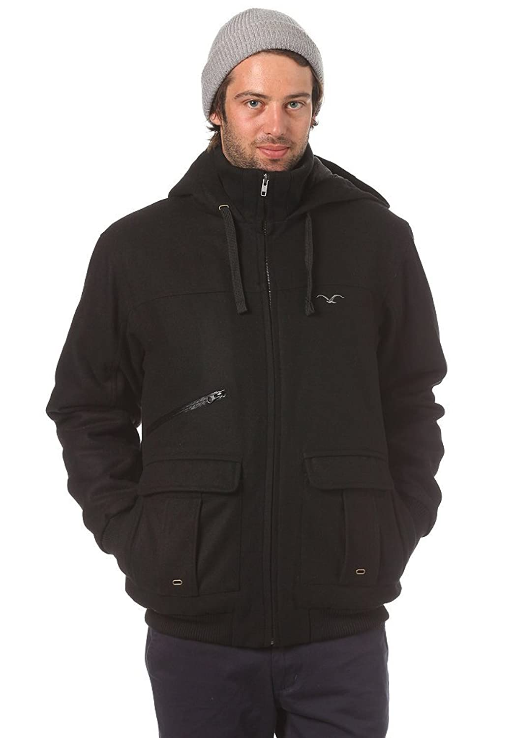 Cleptomanicx Men Winter H Jacket/ C 4 AAL / Black/ Gr. XL