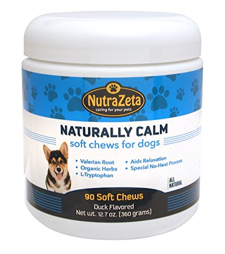 Natural Dog Anxiety Relief - 90 Soft Chews - Reduces Stress & Promotes Relaxation for a Calm Dog - for Travel, Separation Anxiety, Storm Fear, Fireworks - No Drugs & Non-Drowsy - Proudly Made USA