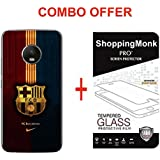 MOTO G5 PLUS Back Cover / G5 PLUS Back Cover Shoppingmonk ...,,,(COMBO OFFER ) For ( MOTO G5 PLUS / G5 PLUS) - PRINTED Hard Matte Finish Back Case Cover + Premium 2.5D Curved 9H Hardness Tempered Glass Screen Protector.