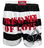 Prisoner of Love XOXO Handcuff Heart Boxers for men