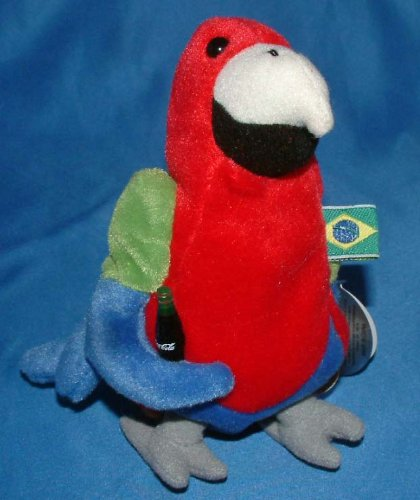 Barrot the Parrot from Brazil - Coca-Cola Collectible - 1