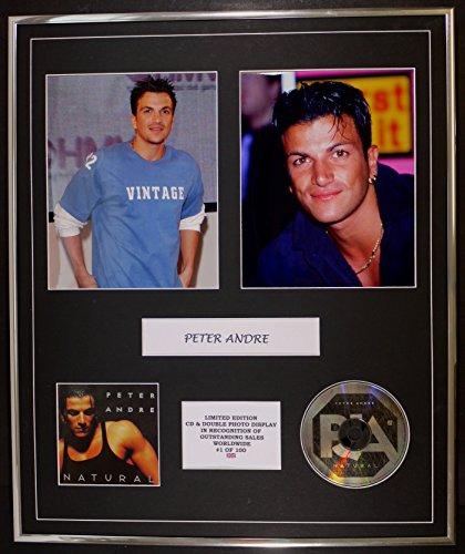 PETER ANDRE/cd e doppio display foto / edizione ltd / coa/NATURAL