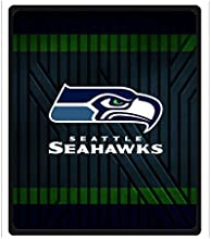 SANMOU Personalized NFL Seattle Seahawks Fleece Throw Blanket Best Gifts Women 50quot x 60quot