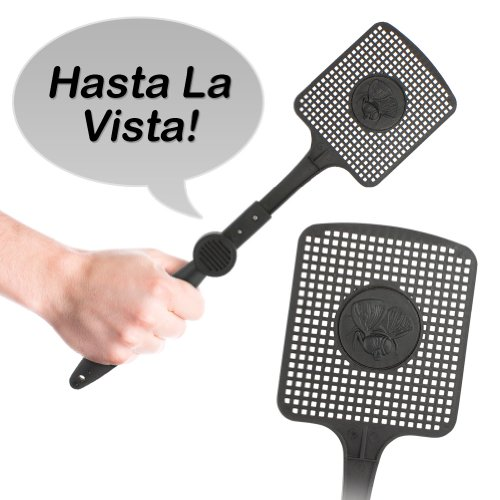 Perfect Solutions Talking Fly Swatter, Black (Discontinued By Manufacturer)