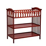 Delta Childrens Products Serenity Changing Table - Brick Cherry