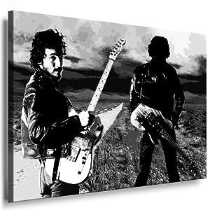 Bilder Kunstdrucke / Boikal / Bild mit Keilrahmen Bruce Springsteen 100x70cm xxl.27
