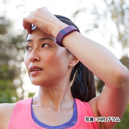 【日本正規代理店品】Fitbit ワイヤレス活動量計+心拍計リストバンド ChargeHR Large Black FB405BKL-JPN