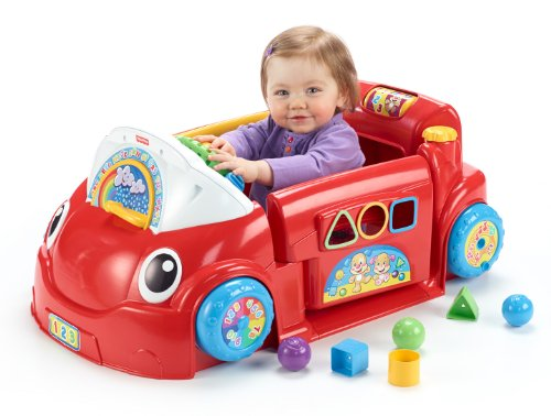 Fisher-Price Laugh And Learn Crawl Around Car front-108753
