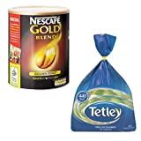 Nescafe Gold Blend 750g Coffee + Tetley 440 Tea Bags MULTI-PACK SPECIAL