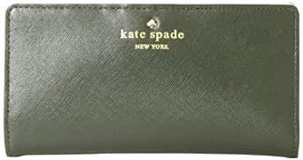 kate spade new york Mikas Pond Stacy Wallet,Loden,One Size