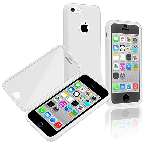 Generic Premium Full Housing Case with Front and Back Protection Built in Screen Protector for Apple iPhone 5C (Full Housing Iphone 5c Case compare prices)