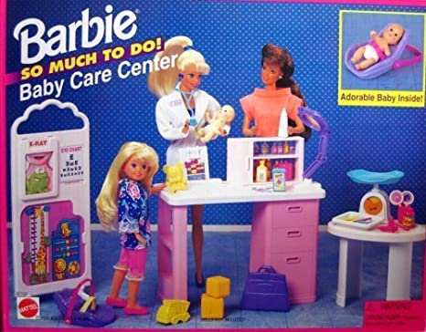 Barbie So Much To Do Baby Care Center Playset (1995 Arcotoys, Mattel) by Barbie