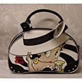 Betty Boop Madam Oval Cocktail Black Bag
