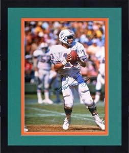 Framed Autographed Dan Marino Miami Dolphins Photo - 16x20 - JSA Certified -... by Sports Memorabilia