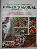 img - for Owner's Manual: Troy-Bilt Roto Tiller-Power Composter, Four-Speed Horse Model book / textbook / text book