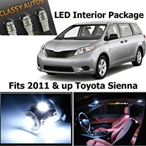 Amazon.com: Classy Autos White LED Lights Interior Package Toyota