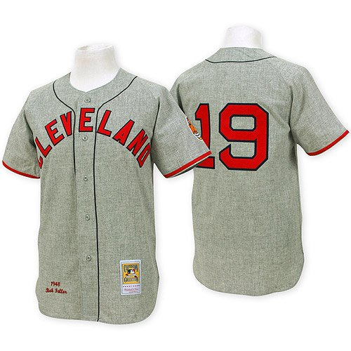 Cleveland Indians Authentic 1948 Bob Feller Road Jersey By Mitchell & Ness 36 at Amazon.com