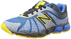 New Balance KJ890 Pre Lace-Up Running Shoe (Little Kid),Blue/Black,1 M US Little Kid