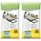 "Breeze Tidy Cat Litter Pads 16.9""x11.4"" - 2 pack of 4 pads"