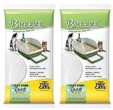 "Breeze Tidy Cat Litter Pads 16.9""x11.4"" - 2 pack of 4 pads"