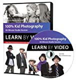 100% Kid Photography: 60 Minute Studio Session (Learn by Video)