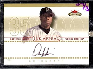 03 Fleer Mystique Ink Appeal Dontrelle WIllis Auto #/35