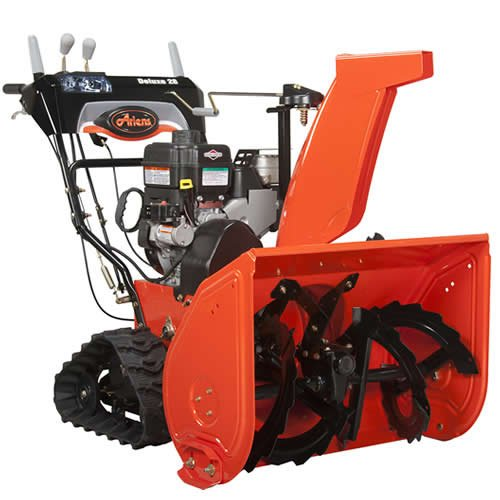 Ariens 921023 Deluxe Track 28 250cc 28 in. Two-Stage Snow Thrower with Electric Start