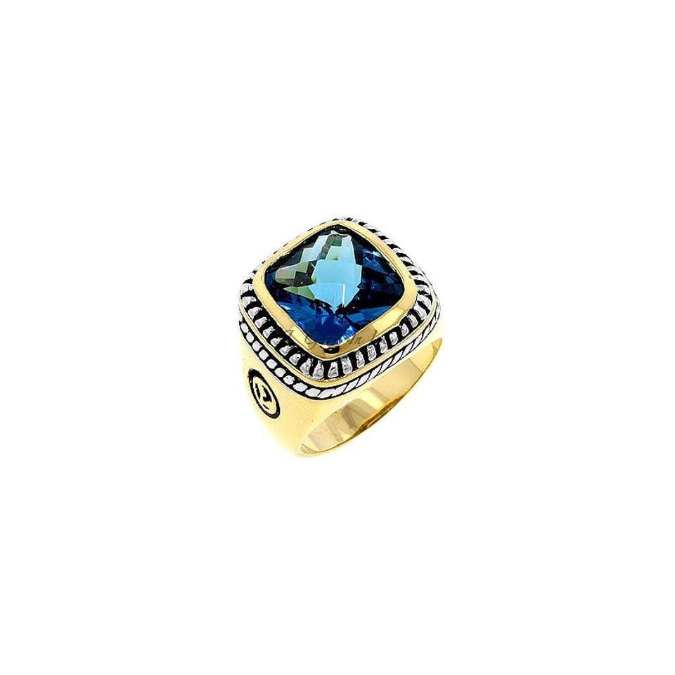 Designer Style Big Stone Ring   Turquoise,5