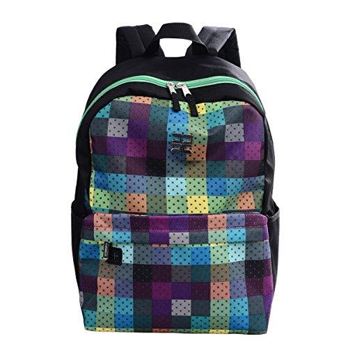 Douguyan Fashion Lightweight School Backpack Cool Book Bag Student Backpack