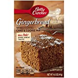 Betty Crocker Gingerbread Cake & Cookie Mix, 14.5 oz Box  (Pack of 12)