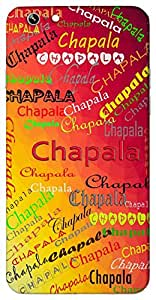 Chapala (Popular Girl Name) Name & Sign Printed All over customize & Personalized!! Protective back cover for your Smart Phone : Samsung Galaxy S5mini / G800