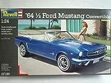 Ford Mustang 1964 1/2 Cabrio Blau 07190 7190 Bausatz Kit 1/24 Revell Modellauto Modell Auto