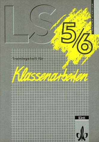 Lambacher-Schweizer, Trainingshefte für Klassenarbeiten, 5./6. Schuljahr