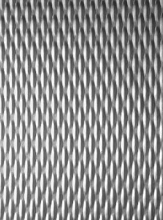 """Patrón 5WL sin pulir con textura de aluminio Hoja, 0.032 """"de espesor"""