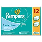 Pampers Fresh Clean Lingettes�B�b� -...