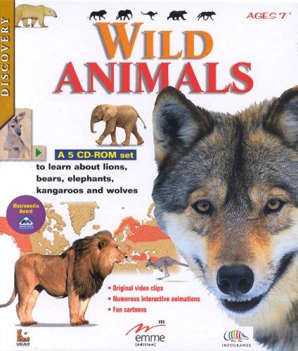 Wild Animals (5 cd-rom set)