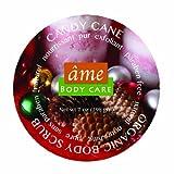 âme 100% Organic Body Scrubs, Candy Cane, 7 oz (198 gm)